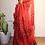 Thumbnail: Handwoven pure Linen saree jamdani motifs