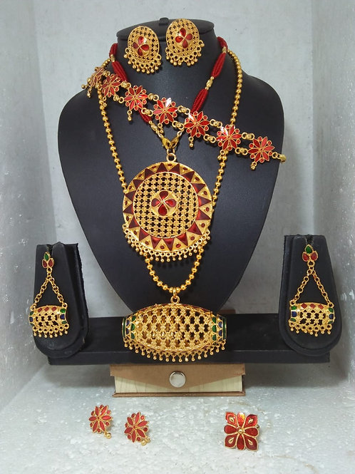 Assam traditional jewellery set ( whatsapp 8700359632 for  stock availability)