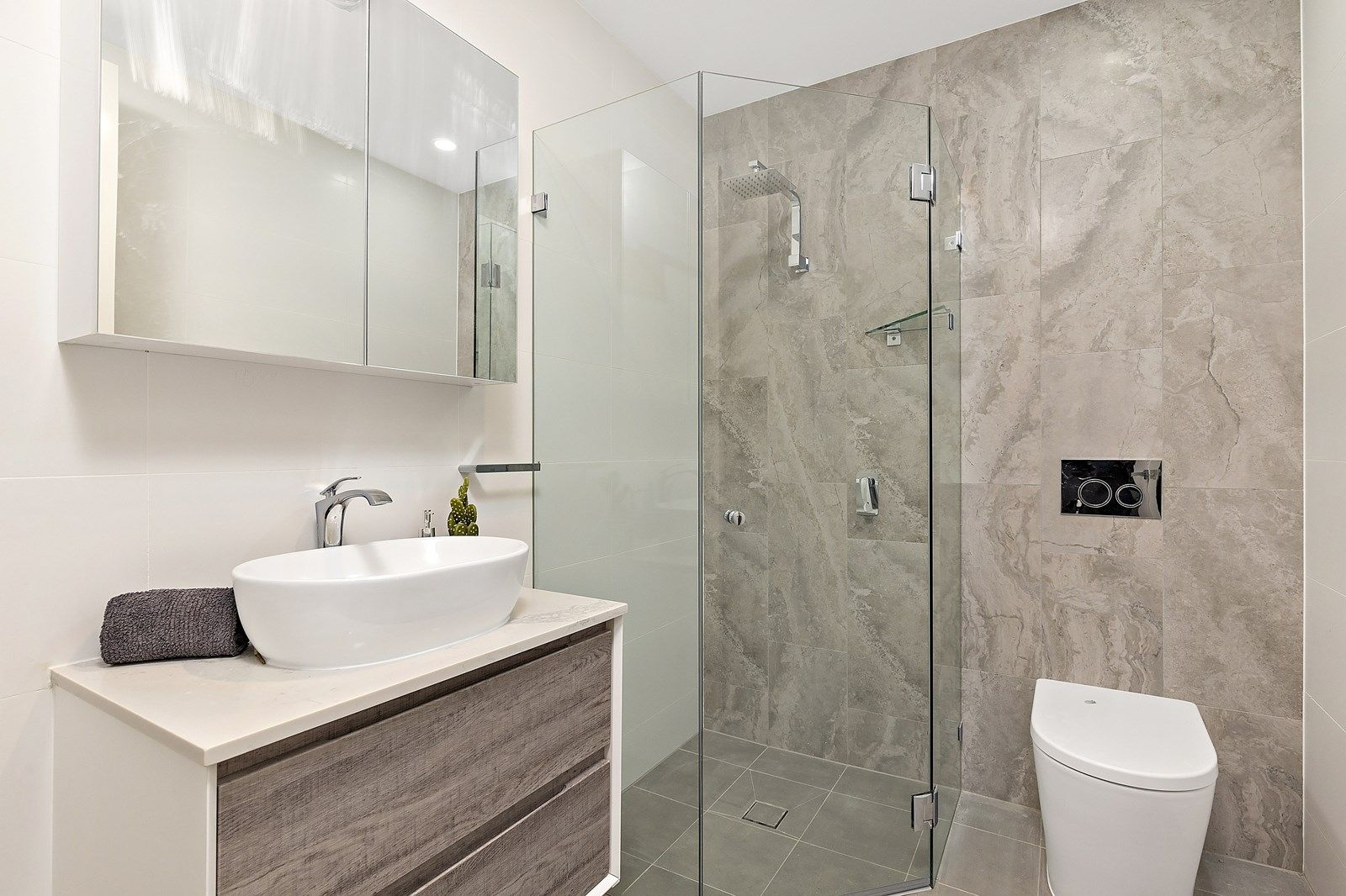 Bathroom Joinery at a Five Dock Project