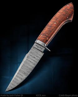 MS test knife - hunter - Josh Fisher