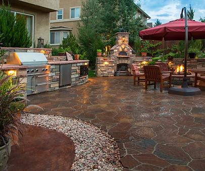 outdoor patio Cedar Park