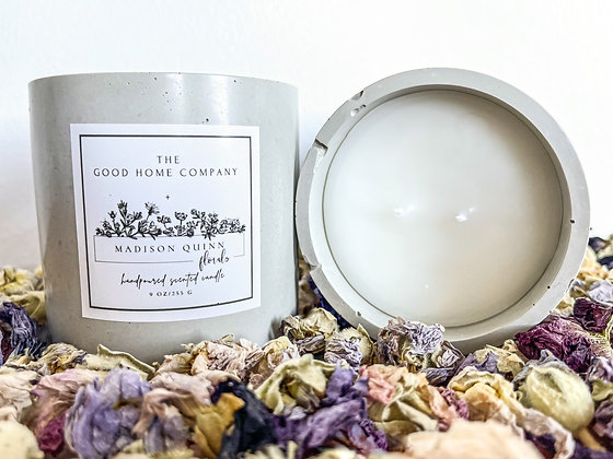 MQ Florals x The Good Home Co. Candle