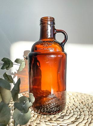 Amber Glass Jug