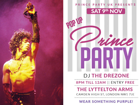 The Pop Up Prince Party Returns!