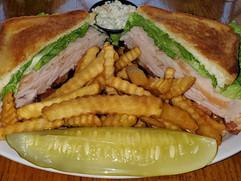 Honey Turkey Club Sandwich