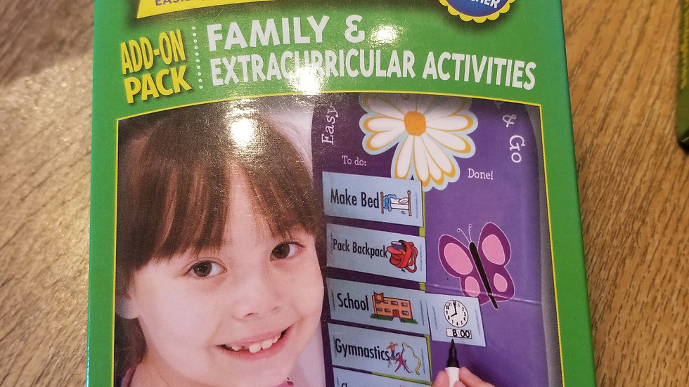 Family & extracurricular activity maginets