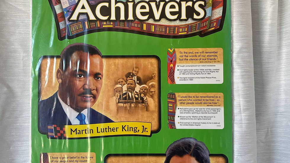 African American Achievers Banner