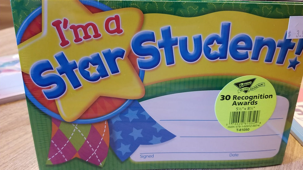 Im a Star Student Award