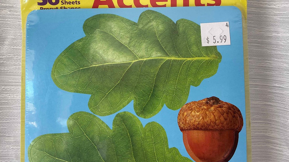 Classic Accent Leafs Cutout