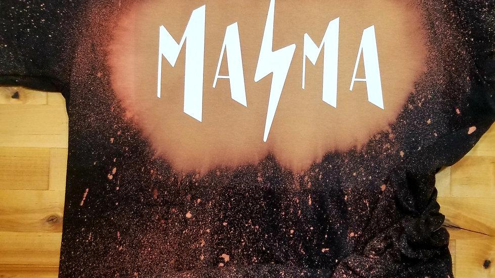 Mama acid wash tee