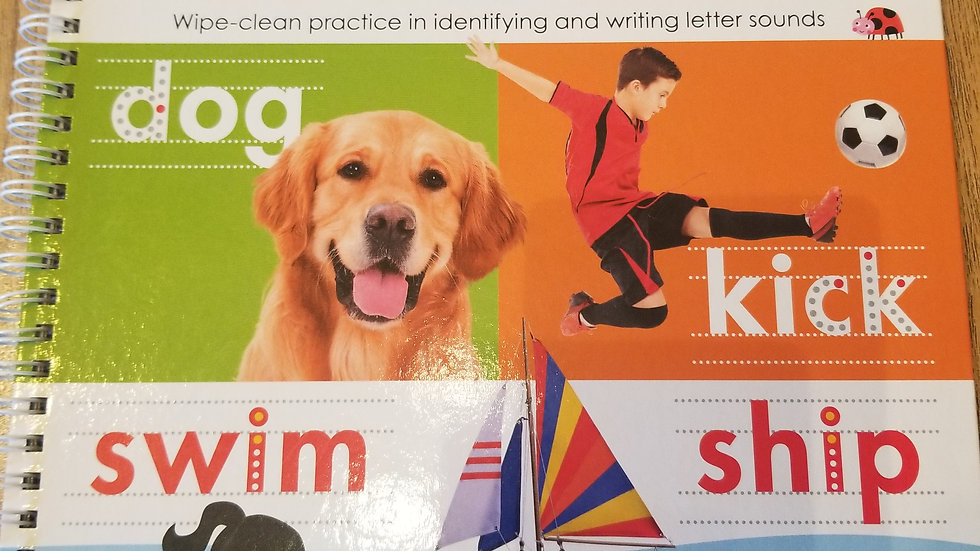 Wipe Clean Ready Set Learn Phonics