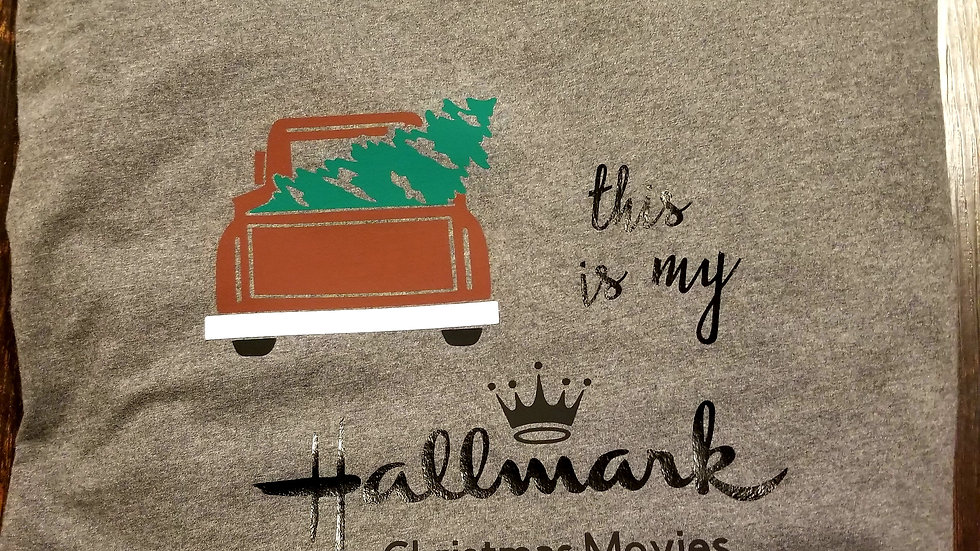 Hallmark movie long sleeved tee