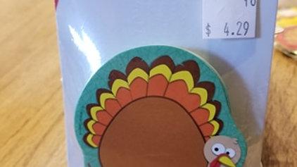 2 sided mini turkey cutouts