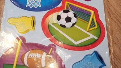 All Star Sports Bulletin Board Set