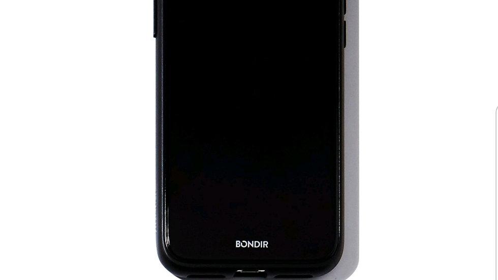 Bondir clear coat case for Iphone 11 Pro/ XS/ X  Black
