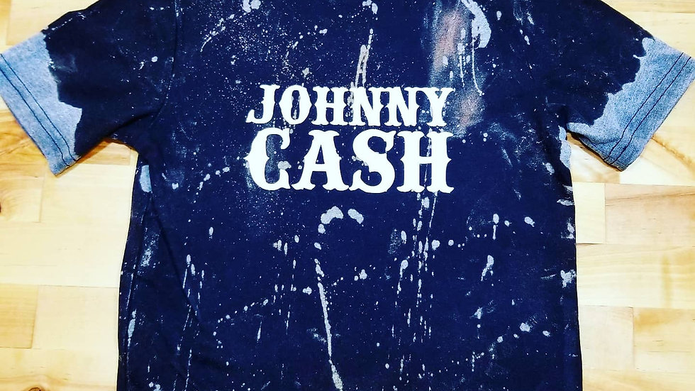 Johnny Cash kids tee