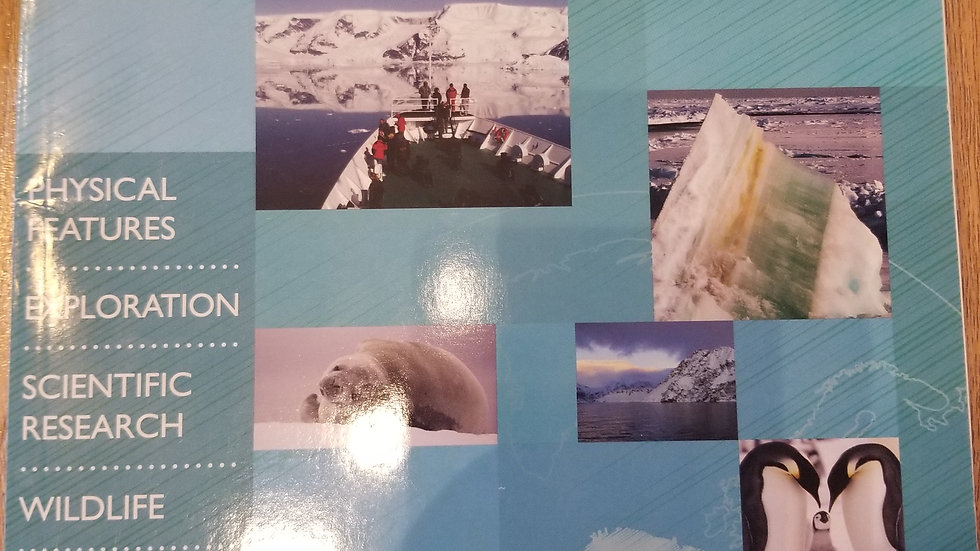 The 7 Continents Antarctica Grades 4-6 plus