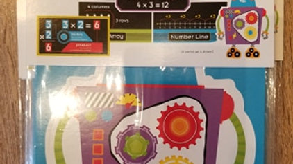 The Nuts and Bolts Of Multiplication 16pc