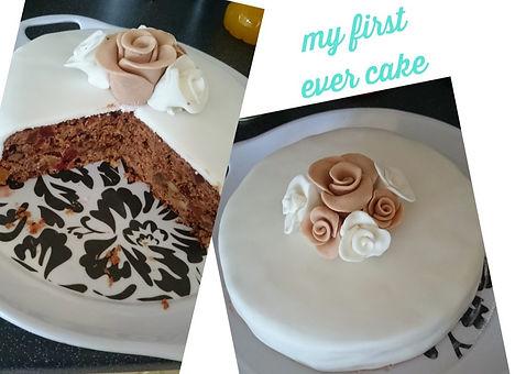 fruitcake first cake