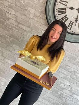 Bespoke cake maker Peterborogh