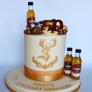 Personalised fondant cake man cake whisk
