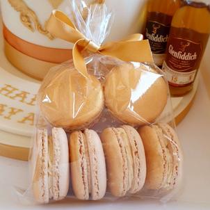 Gold beige macarons macaron bag party we