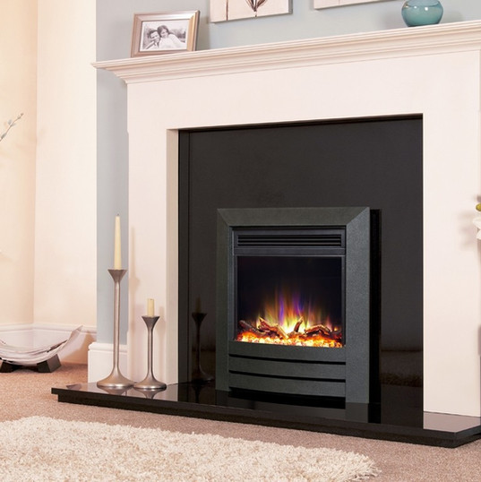 The Camber Electric Fire In Black