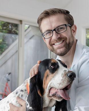 Chien et son vétérinaire