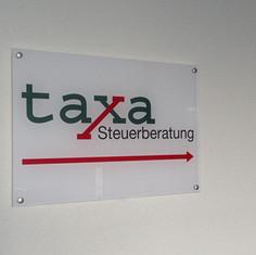 Plexi-Schilder