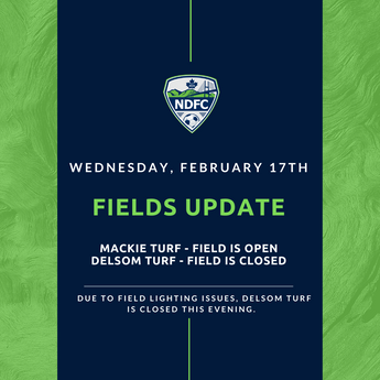 Delsom field closed - Feb 17