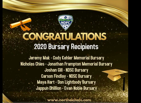 2020 Busary Recipients
