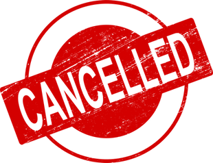 Games cancelled - Nov 21/22
