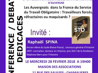 Conférence débat avec Raphaël Spina