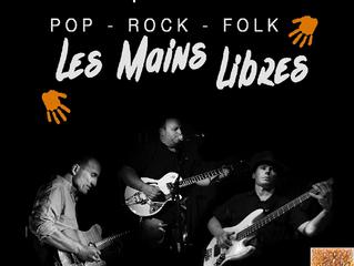 Concert Les Mains Libres au Moulin le vendredi 16 Mars 2018 !