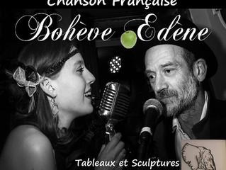 Bohève Edène en concert vendredi 13 janvier 2017 au Moulin