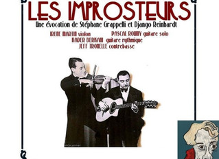 LES IMPROSTEURS JAZZ MANOUCHE au Moulin de la Tiretaine le vendredi 6 décembre 2019
