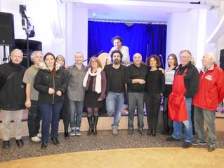 Plus de 130 personnes on fêté le 3ème  ANNIVERSAIRE du MOULIN DE LA TIRETAINE LE 17 NOVEMBRE