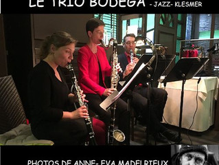 Trio BODEGA au Moulin de la Tiretaine le vendredi 17 mai 2019