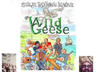 Wild Geese au Moulin de la Tiretaine le vendredi 6 mars 2020