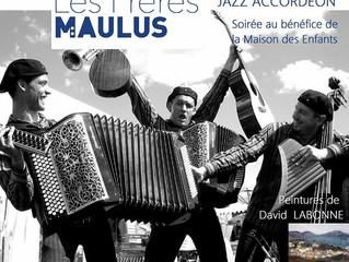 Les Frères MAULUS au MOULIN DE LA TIRETAINE Le vendredi 8 décembre 2017