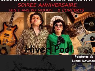 Le Moulin de la Tiretaine fête son 2ème anniversaire