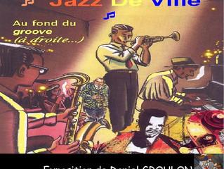 """""""JAZZ de VILLE """" au Moulin le vendredi 8 Juin 2018 !"""
