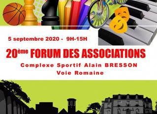Forum des Associations + pré-programme 2020/2021