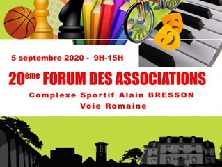Forum des Associations + pré-programme 2020/2021