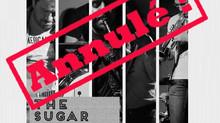 The Sugar Daddies au Moulin de la Tiretaine le vendredi 15 novembre 2019... ANNULÉ !