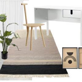חדר עבודה ביתי כמו בקטלוג- כך תוכלו לעצב לבד ובקלות