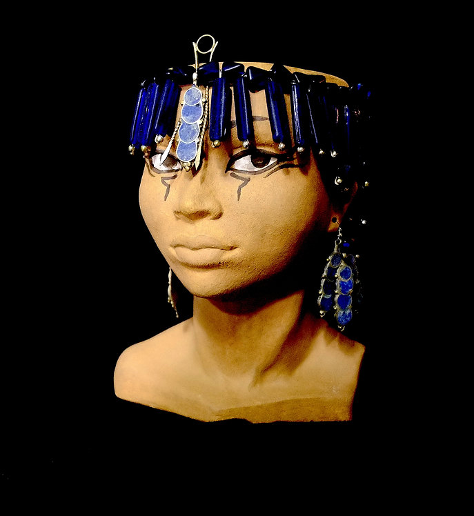 TÊTE EGYPTE NEFERTITI