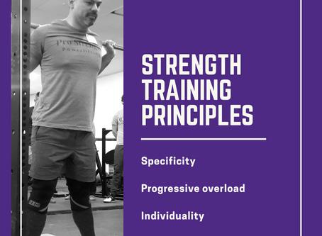 Strength Training Principles