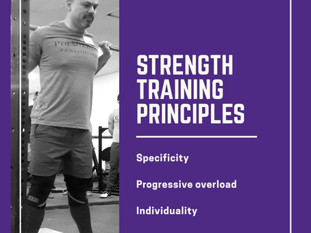 Strength Training Principles