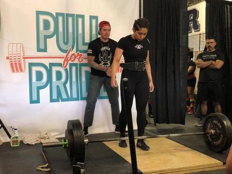 Marlene Pulls For Pride